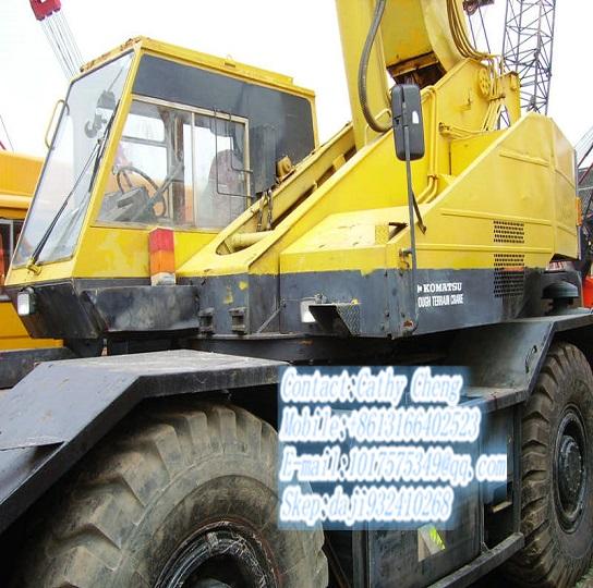 Used Komatsu Lw250m 3 Crane