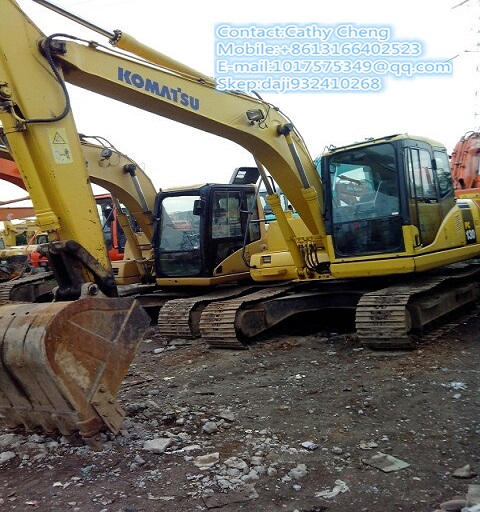 Used Komatsu Pc130 7 Excavator