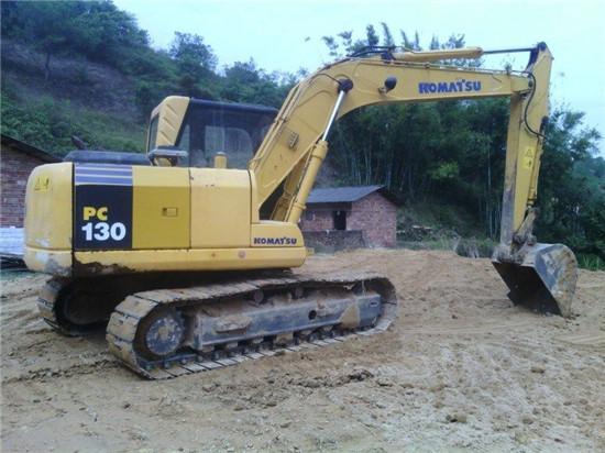 Used Komatsu Pc130 Crawler Excavator