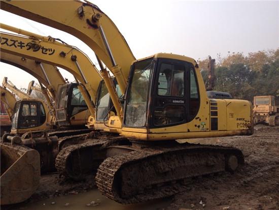 Used Komatsu Pc200 6 Excavator 65288 Usd 49000 65289