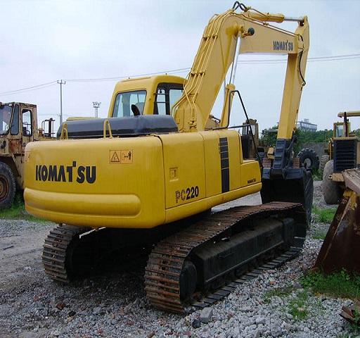 Used Komatsu Pc220 Excavator