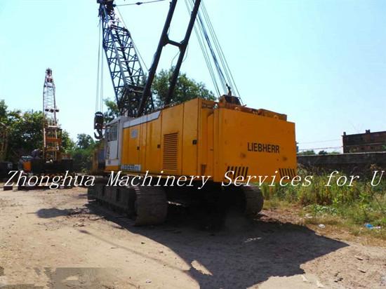 Used Liebherr Crawler Crane 80 Ton