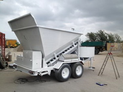 Used Mobile Concrete Plant B 15 1200