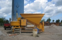 Used Mobile Concrete Plant Sumab C 15 1200