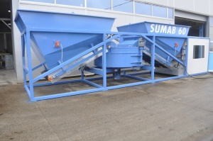 Used Mobile Concrete Plant Sumab K 60