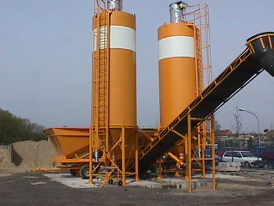 Used Mobile Concrete Plant Sumab M 55 8 2200 From 2006