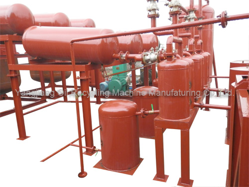 Used Oil Recycling Machine Blend Glass Control