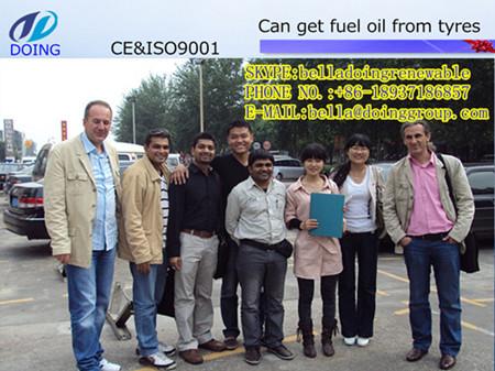 Used Oil Refinery Machine Turn To Diesel