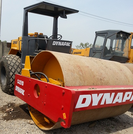 Used Road Rollers Dynapac Ca251d In Construction Machines