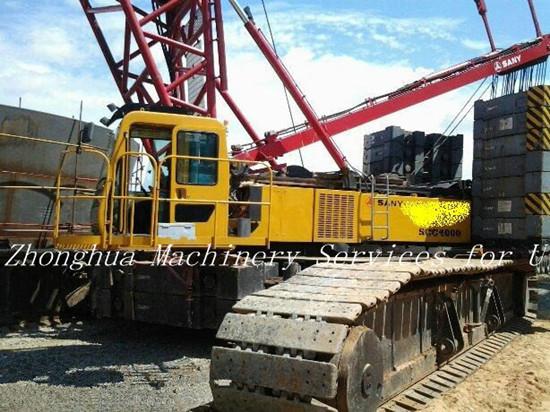 Used Sany 400 Ton Crawler Crane