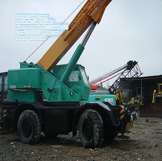 Used Second Hand Kato Kr250 Crane
