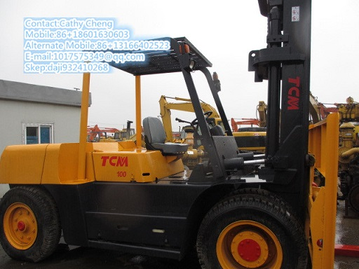 Used Tcm Fd100 Forklift Model