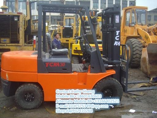Used Tcm Fd30 Forklift