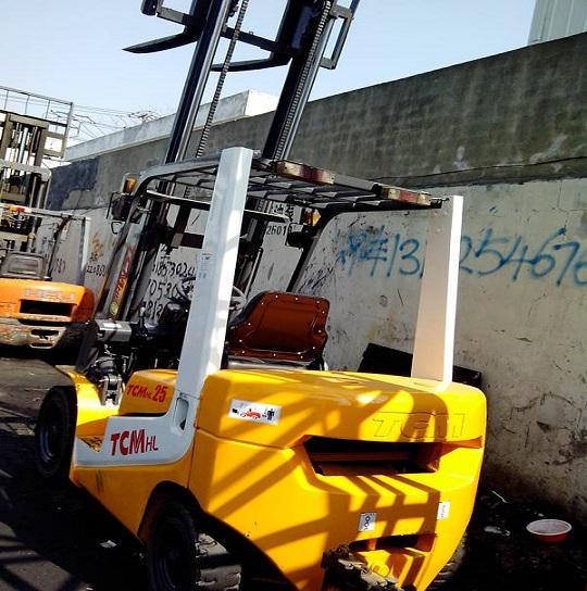 Used Tcm Hl25 Forklift