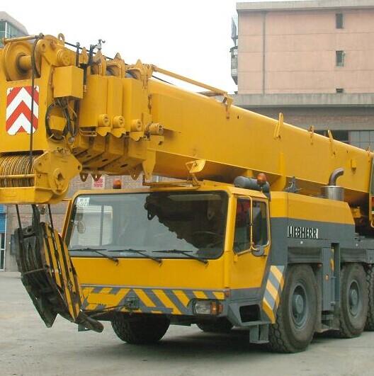 Used Terrian Crane Liebherr 250ton