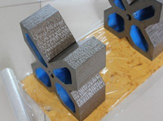 Used To Support The Shaft Pipe Casing Cast Iron V Block