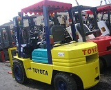 Used Toyota 3t Diesel Forklift