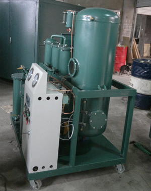 Used Turbine Oil Filtration Treatment Machine Recycling System
