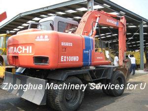 Used Walking Excavator Hitachi Ex100wd