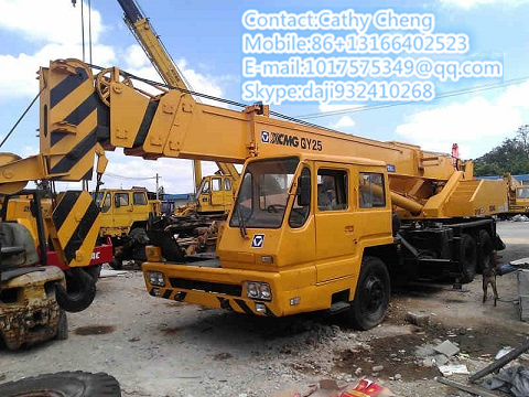 Used Xcmg Qy25 Crane