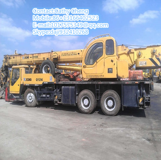 Used Xcmg Qy25k Crane