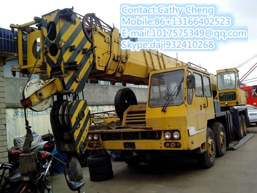 Used Xcmg Qy50 Crane