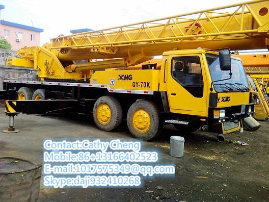 Used Xcmg Qz70k Crane