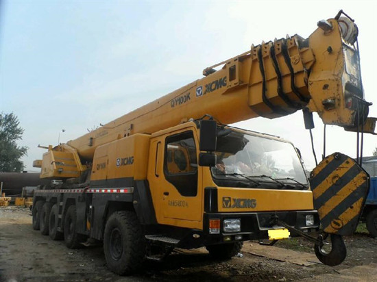 Used Xcmg Truck Crane Qy100k