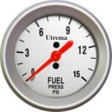 Utrema Auto Mechanical Fuel Pressure Gauge 52mm