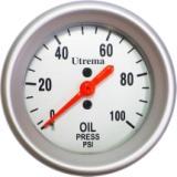 Utrema Auto Mechanical Oil Pressure Gauge 52mm