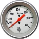 Utrema Auto Mechanical Oil Temperature Gauge 52mm