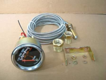 Utrema Auto Short Sweep Mechanical Water Temperature Gauge 2 1 16
