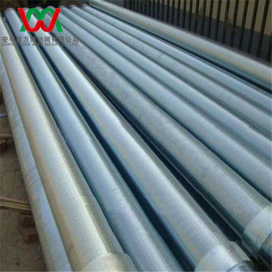 V Wedge Wire Stainless Steel Water Well Pipe Screen