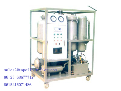 Vacuum Emulsified Gas Turbine Oil Purifier Filtration Plant