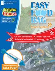 Vacuum Food Bag Seal