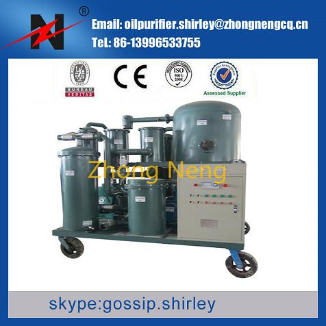 Vacuum Lube Oil Purifier Engine Recycling Plant Tya