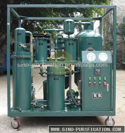Vacuum Oil Purifier For Lubricating Transformer Filter