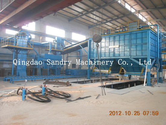 Vacuum Process Casting And Molding Line