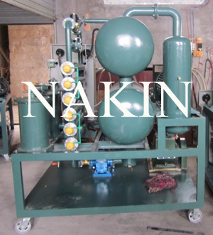 Vacuum Transformer Oil Filtration Dehydration Machine