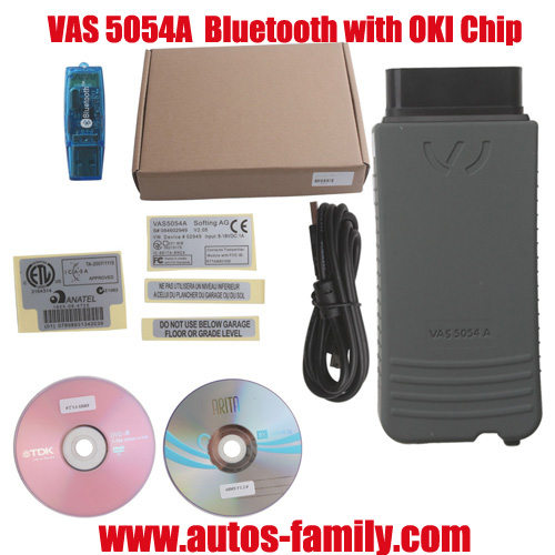 Vas 5054a With Odis V1 2 0 Bluetooth Oki Chip Support Uds Protocol
