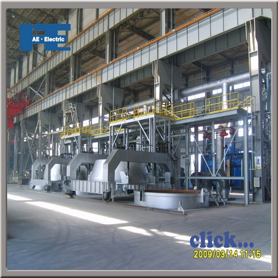 Vd Vod Vacuum Refining Furnace