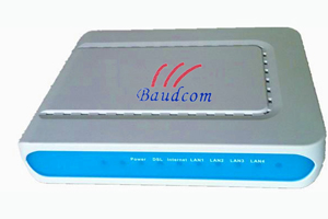 Vdsl2 Modem With 4port Fe Router
