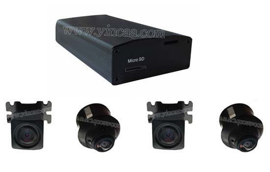Vehicle 360 Bird View Dvr System