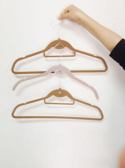 Velvet Cascade Suit Hanger
