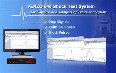 Venzo 640 Shock Test System Dtc