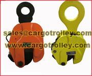 Vertical Lifting Clamps For Steel Plates