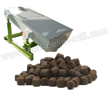 Vibrating Feed Pellet Grading Sieve Is Used To Collect The Qualified Products By Removing Powder