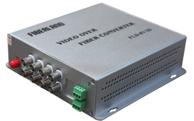 Video Fiber Multiplexer Converter