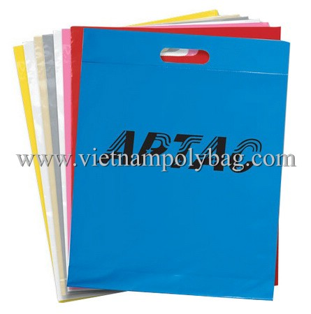 Vietnam Die Cut Plastic Poly Bag