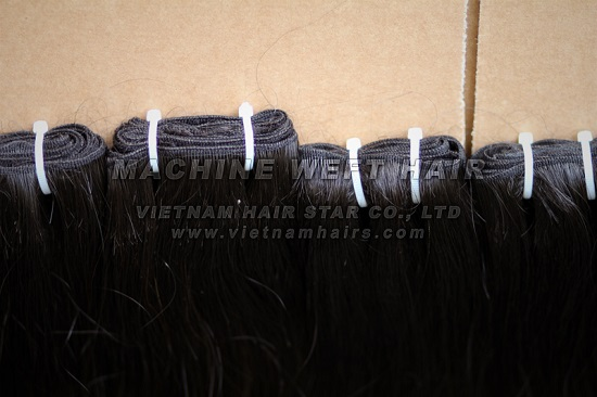 Vietnam Hot Selling Unprocessed Weft Hair Extensions